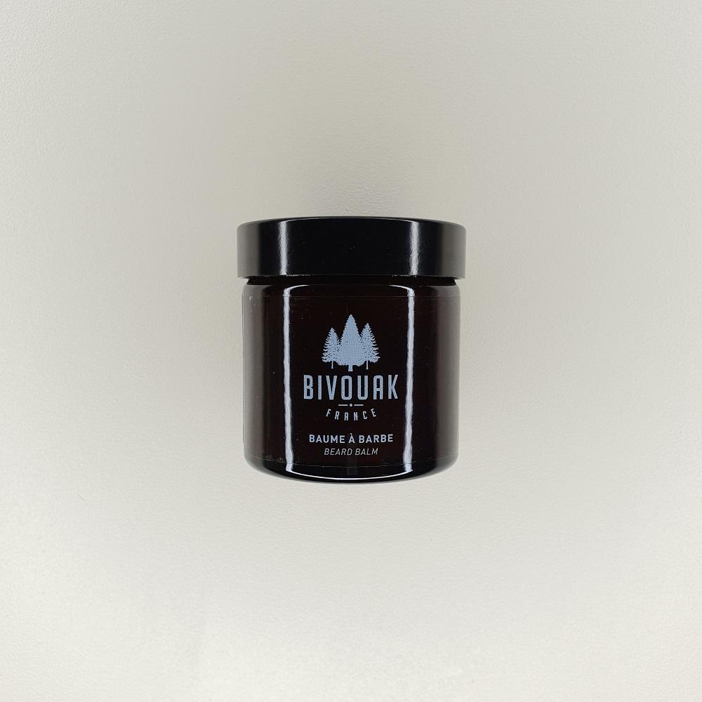Baume à barbe bio Bivouak pour homme contenance 60 ml