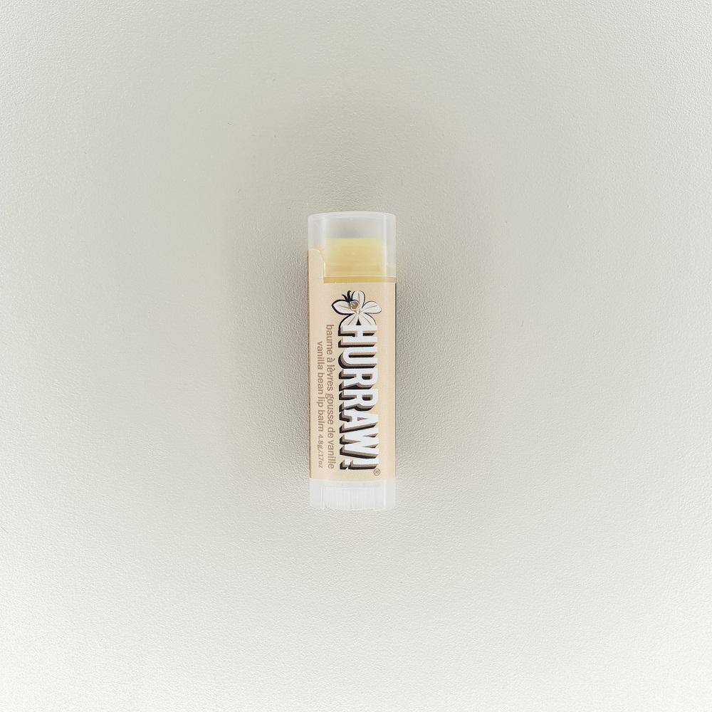 Baume stick à lèvres naturel vanille Hurraw!