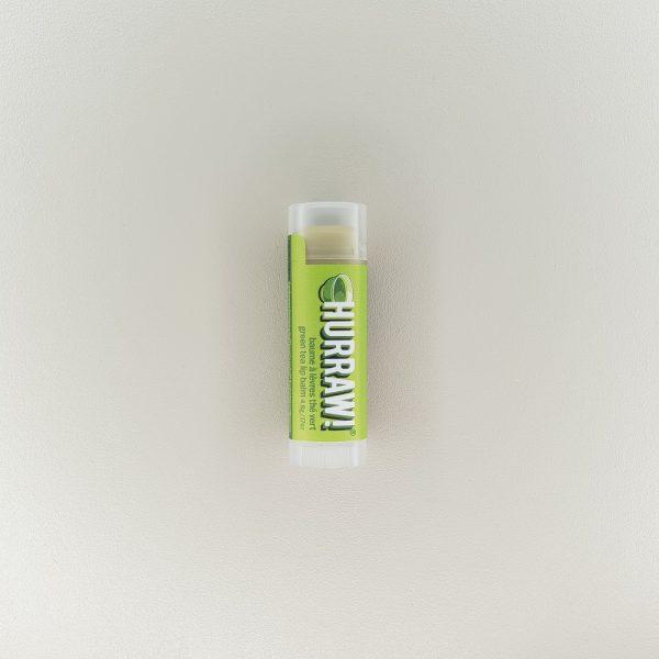 Baume stick à lèvres naturel thé vert Hurraw!