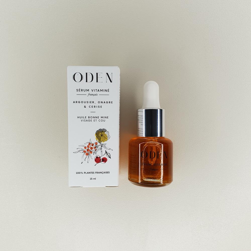 Sérum Vitaminé visage aux 3 huiles bio oden