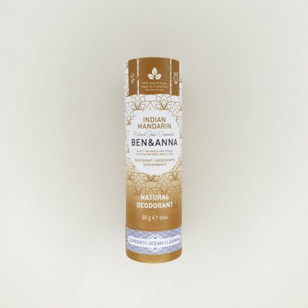 Déodorant papertube Indian Mandarine