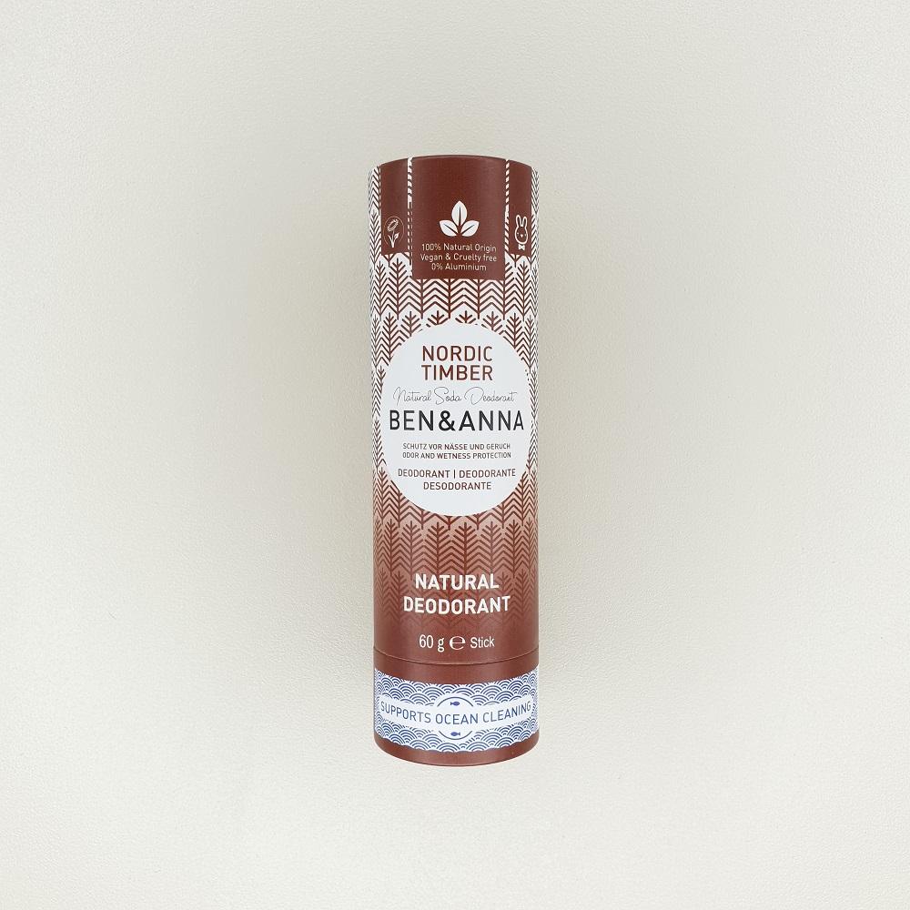 Déodorant papertube Nordic Timber ben&anna