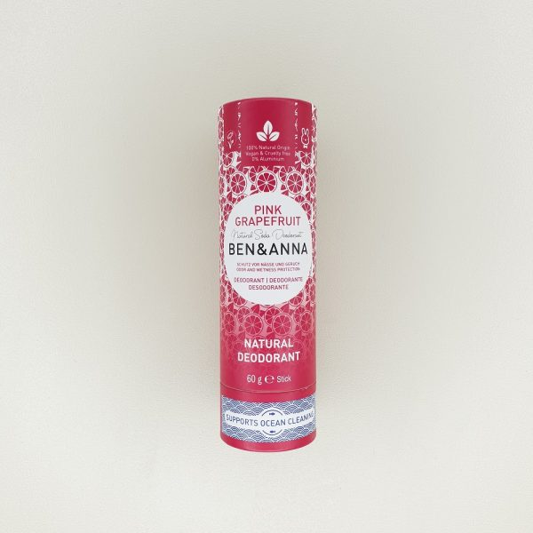 Déodorant papertube Pamplemousse rose Ben & Anna