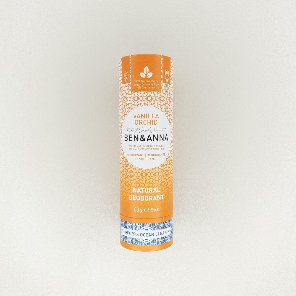 Déodorant papertube Vanille Orchidée ben & anna