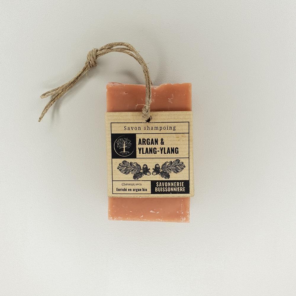 Savon shampoing Argan & Ylang-Ylang La savonnerie buissonnière