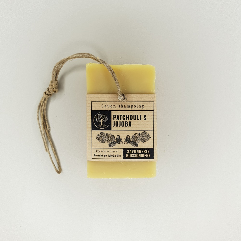 Savon shampoing Patchouli & Jojoba La savonnerie buissonnière