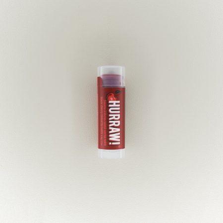 Baume stick à lèvres naturel teinté cerise noir Hurraw!
