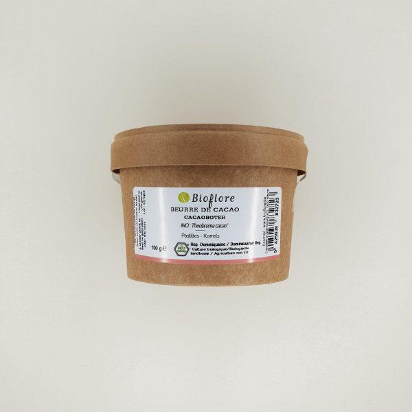Beurre de Cacao brut bioflore