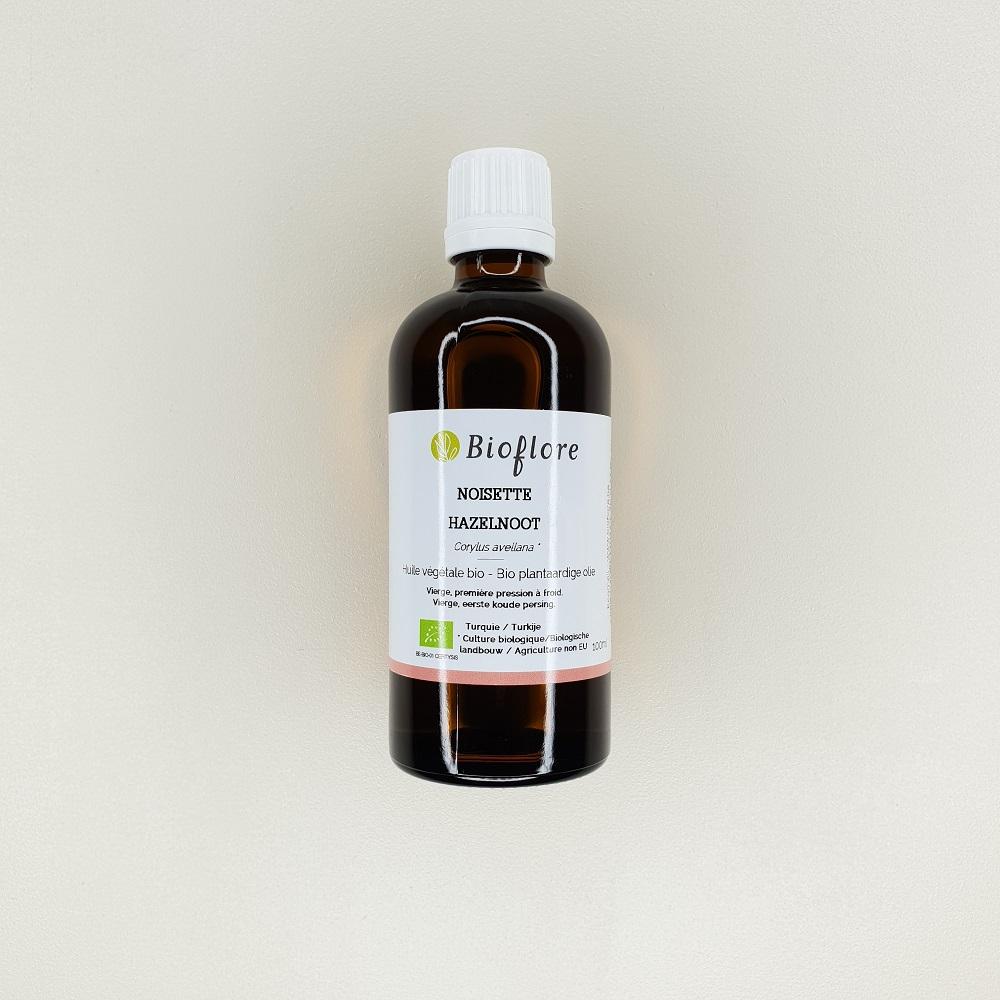 huile végétale de noisette Bioflore