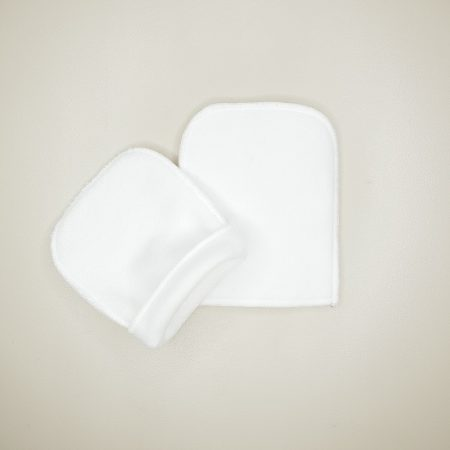 Gant démaquillant lavable eucalyptus marque tendances d'emma