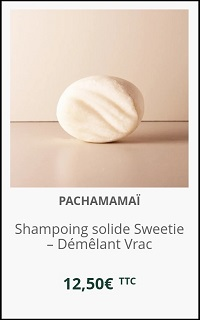 Shampoing solide Sweetie Pachamamaï