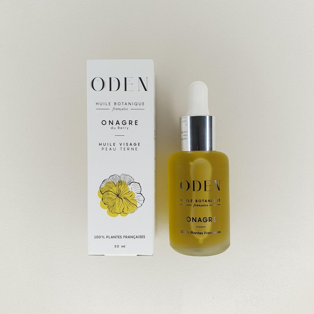 Huile d'Onagre Oden pour peaux terne 30 ml