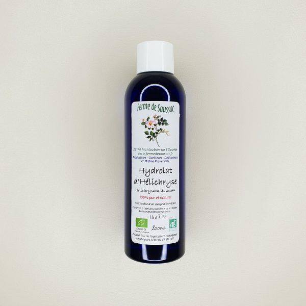hydrolat d'helichryse bio ferme de saussac 200 ml