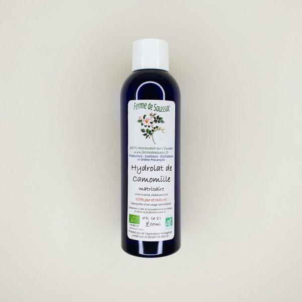 hydrolat de camomille bio ferme de saussac 200 ml