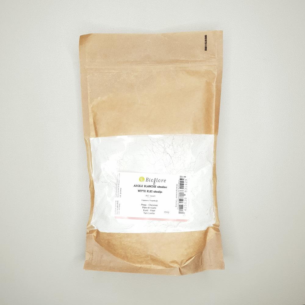 Argile blanche utlrafine 250 grammes Bioflore