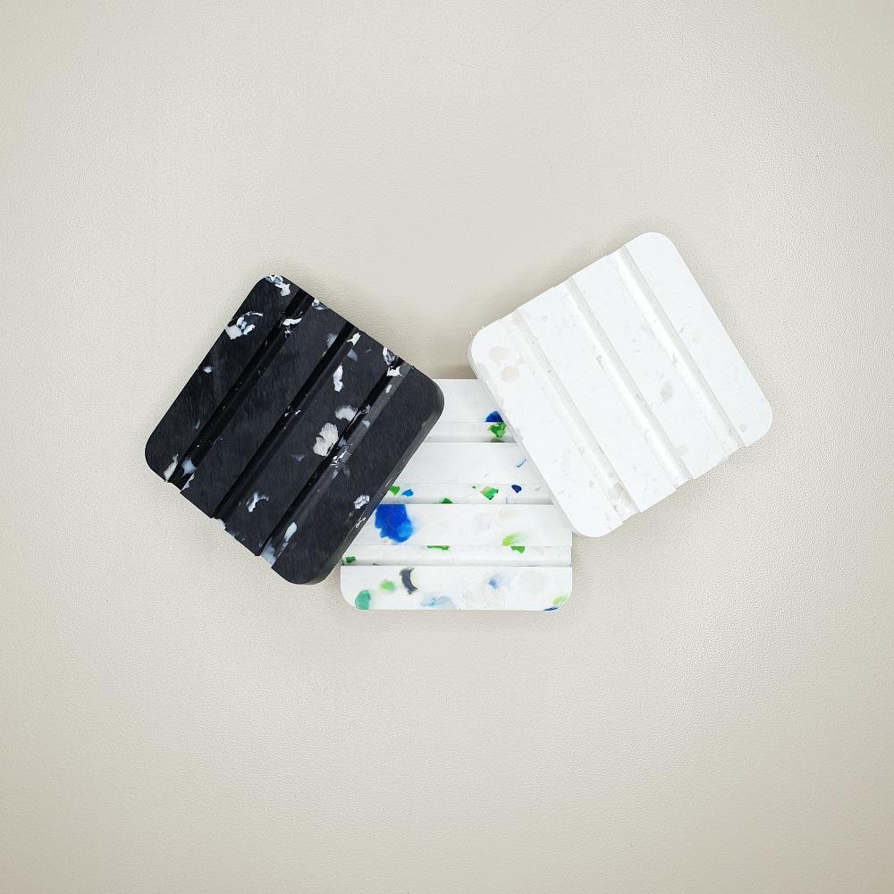 Porte savon Umaï en plastique recyclé