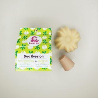 Coffret Duo Évasion - Après shampoing et déodorant solides