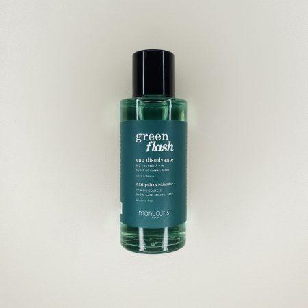 dissolvant pour vernis semi-permanent green flash Manucurist