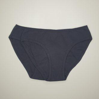 Lot 2 culottes menstruelles en coton bio noires