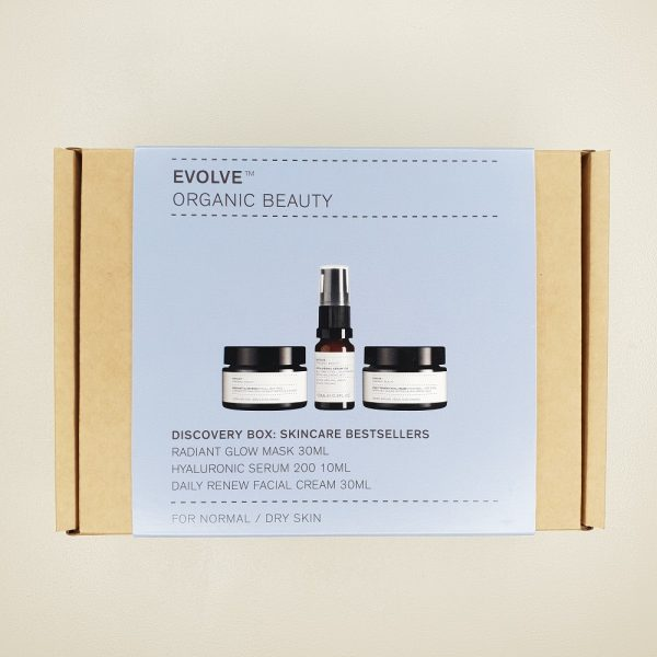 coffret découverte trio visage best sellers Evolve Beauty
