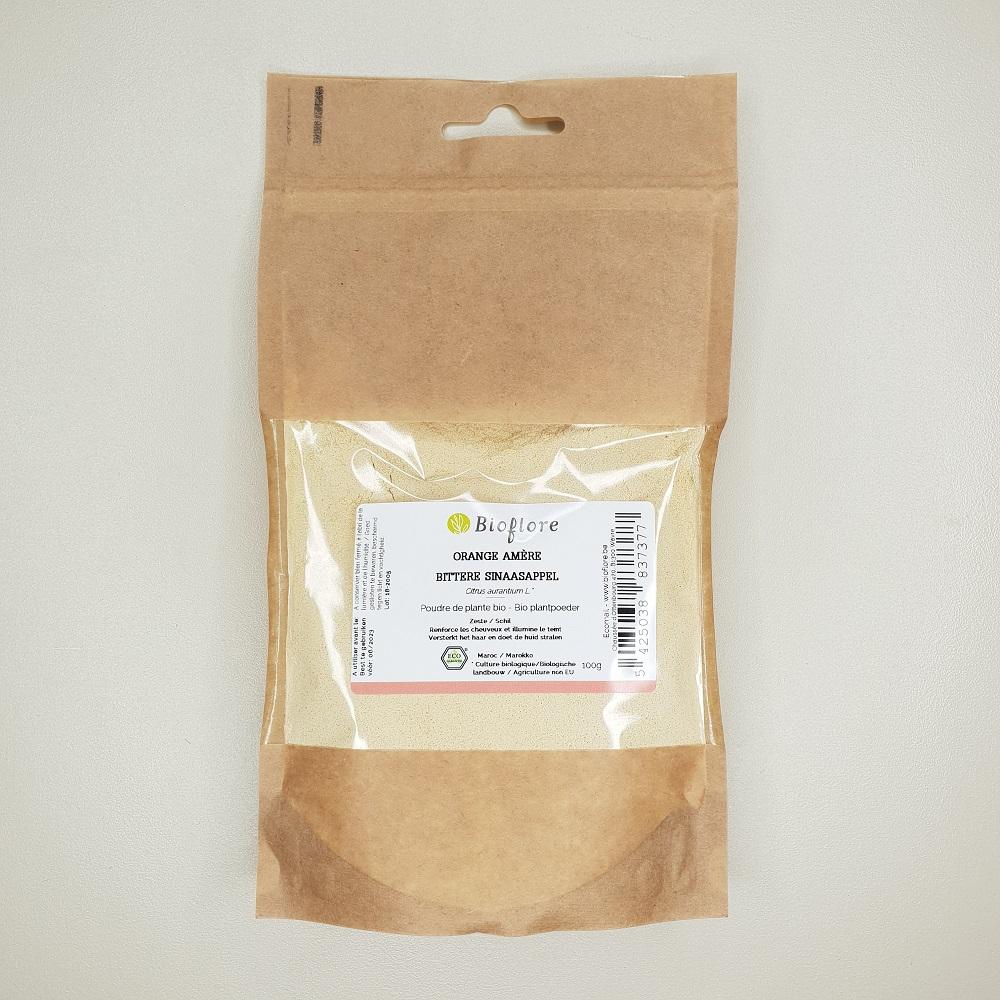 Poudre d'orange biologique 100 grammes bioflore