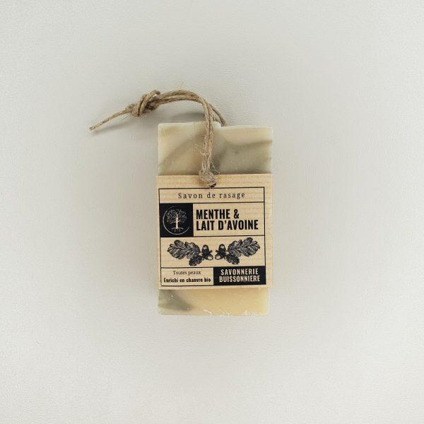 Savon de rasage en vrac La savonnerie buissonnière 100 grammes