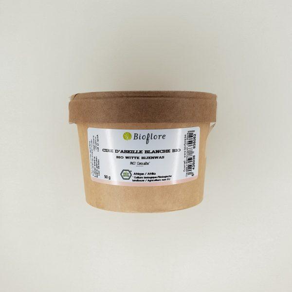 Cire d'abeille blanche bio Bioflore 50 gr