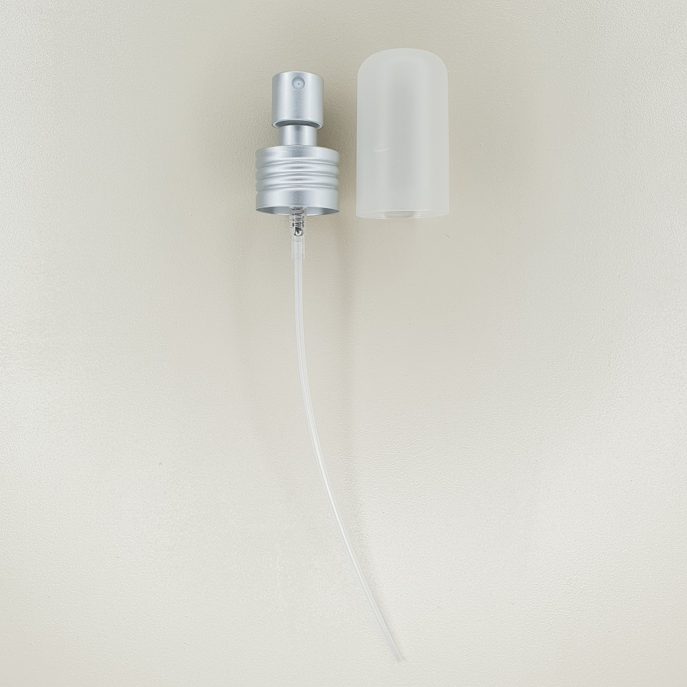 Pompe spray en aluminium pour flacon bioflore hydrolats