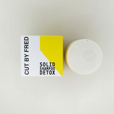 Recharge pour le shampoing stick detox vegan de cut by fred 10 gr