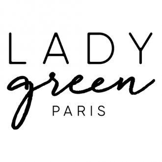 logo lady green