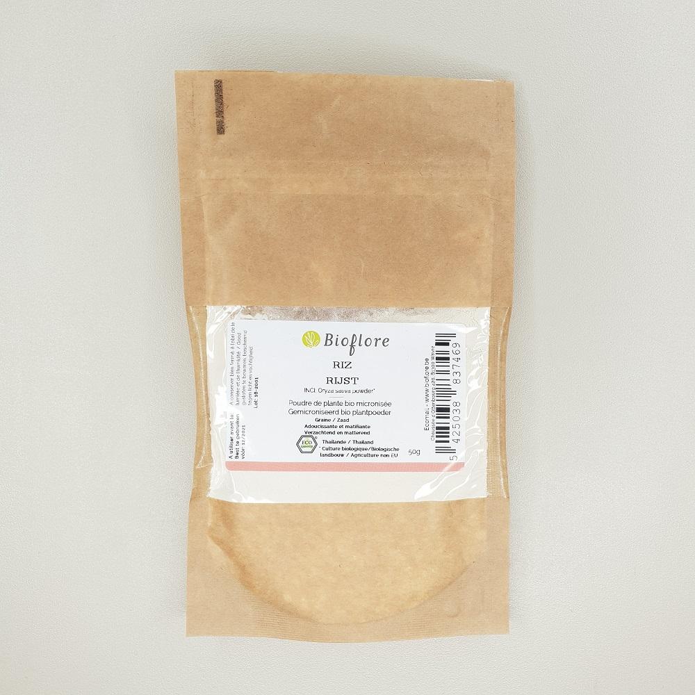 Poudre de riz bio Bioflore de 50 gr
