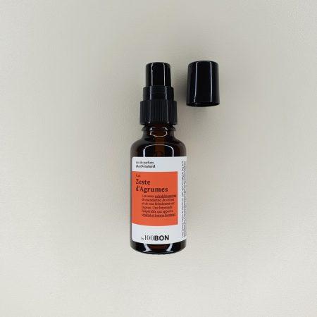 Eau de parfum Zeste d'Agrumes 100 Bon contenance 30 ml
