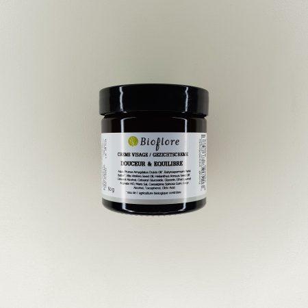 Base neutre crème visage douceur et équilibre bioflore 60 grammes