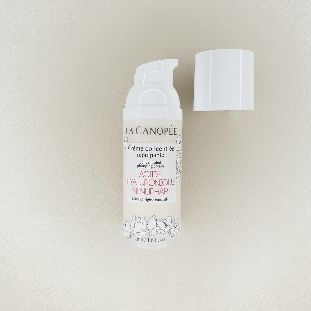 Crème concentrée repulpante à l'acide hyaluronique La Canopée contenance 50 ml