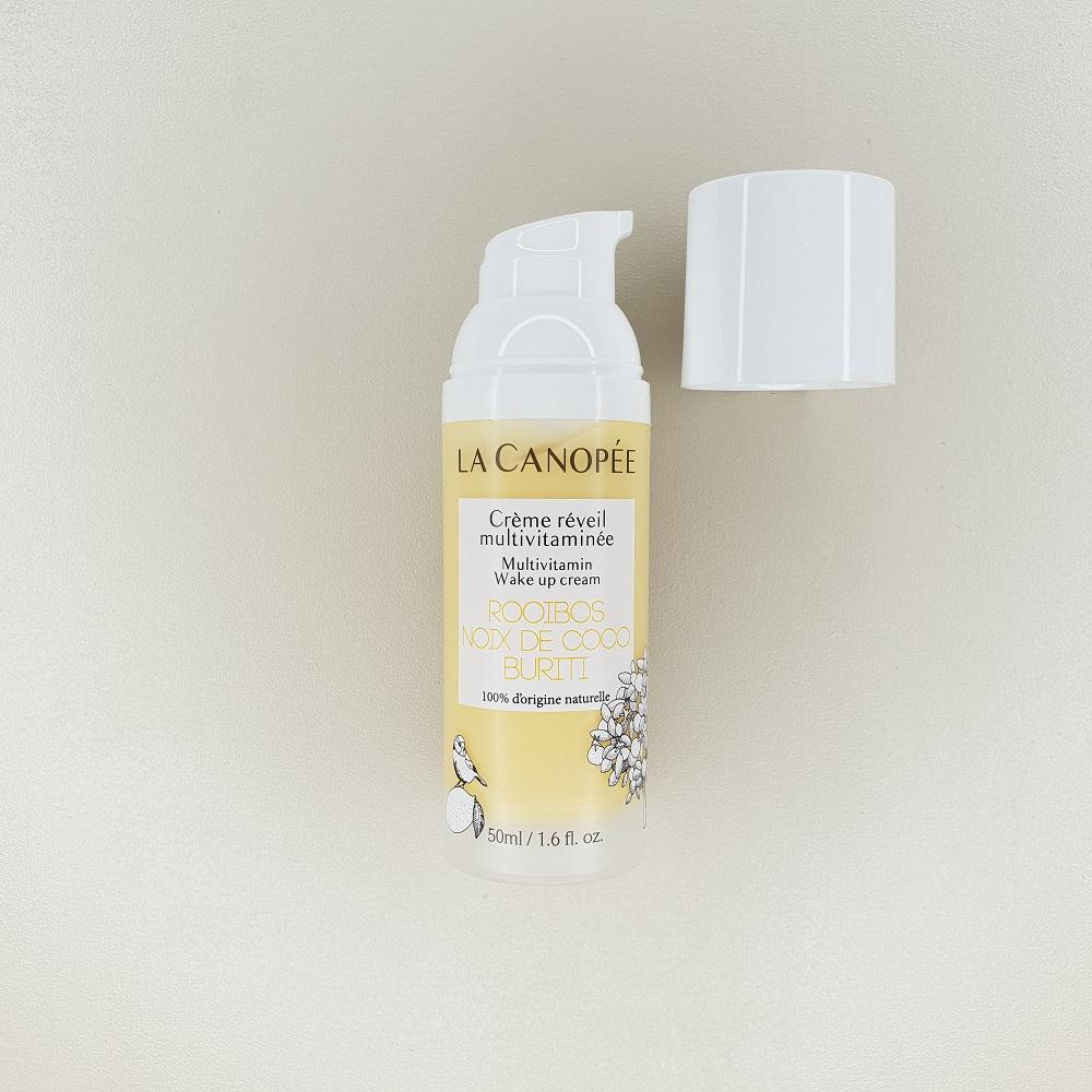 Crème réveil multivitaminée La canopée contenance 50 ml 100% naturelle