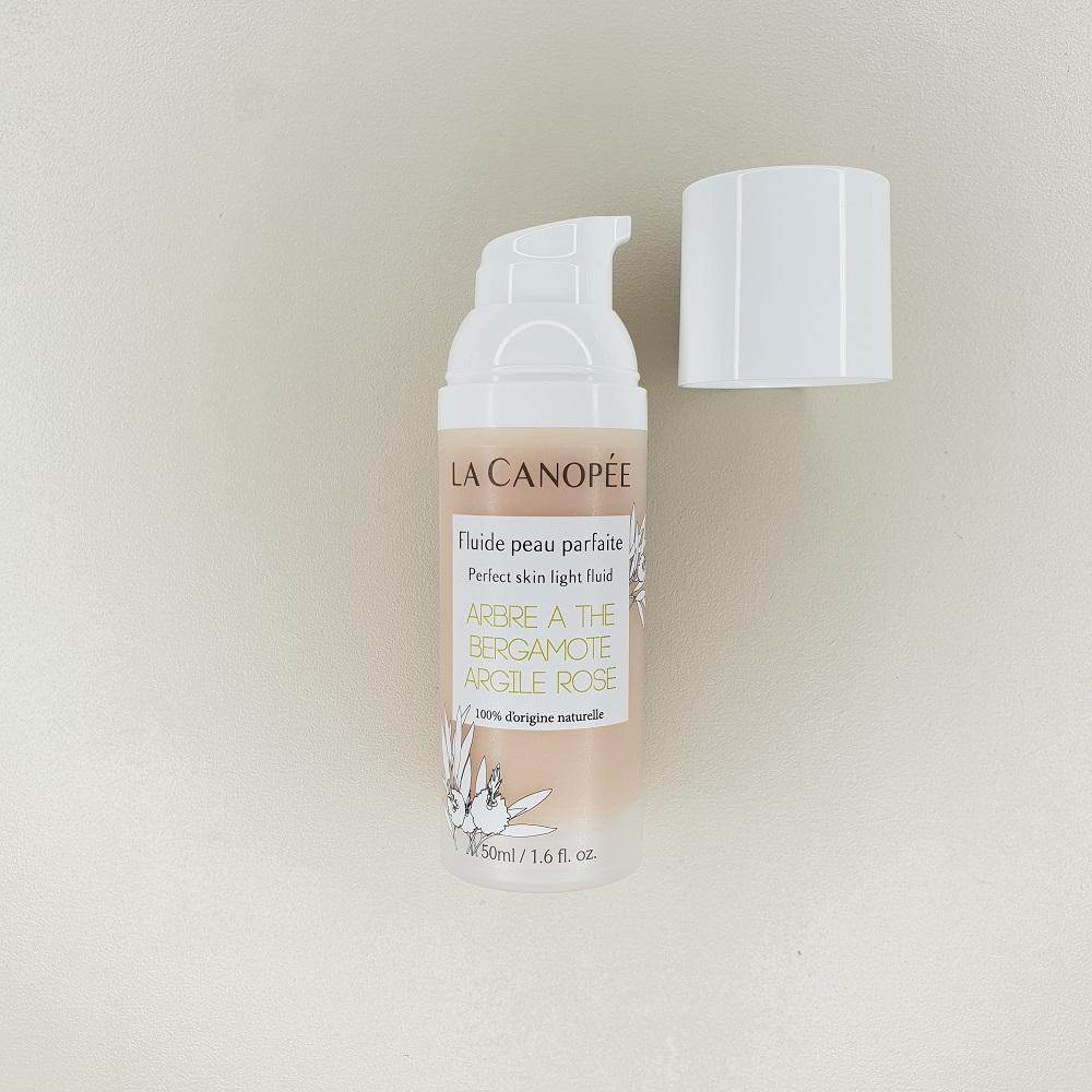 Fluide peau parfaite La canopée contenance 50 ml 100% naturelle