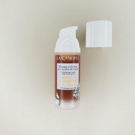 Masque exfloliant La Canopée aux acides de fruits contenance 50 ml