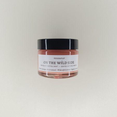 Masque exfoliant Bio acides de fruits poudre de riz On the wild side 50 ml