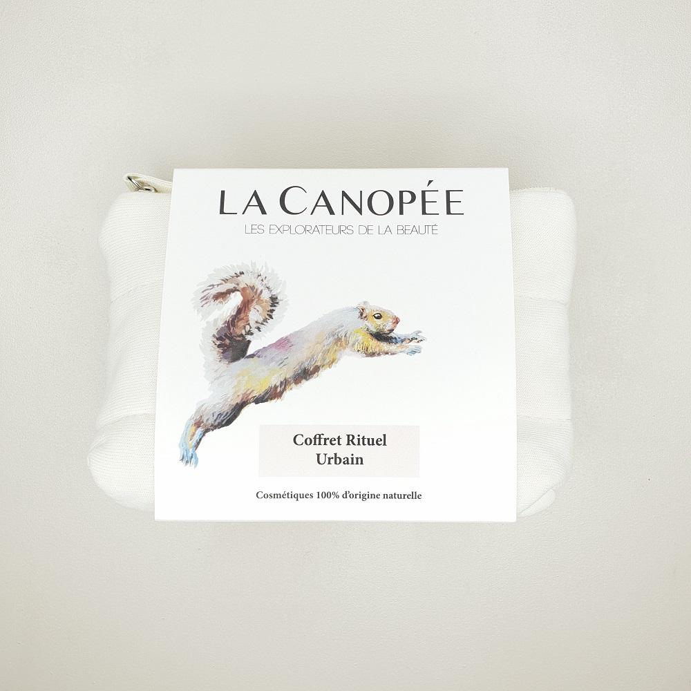 Trousse coffret La canopée rituel urbain 4 produits